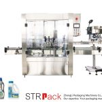 Automatisk 6-hoders roterende capping-maskin