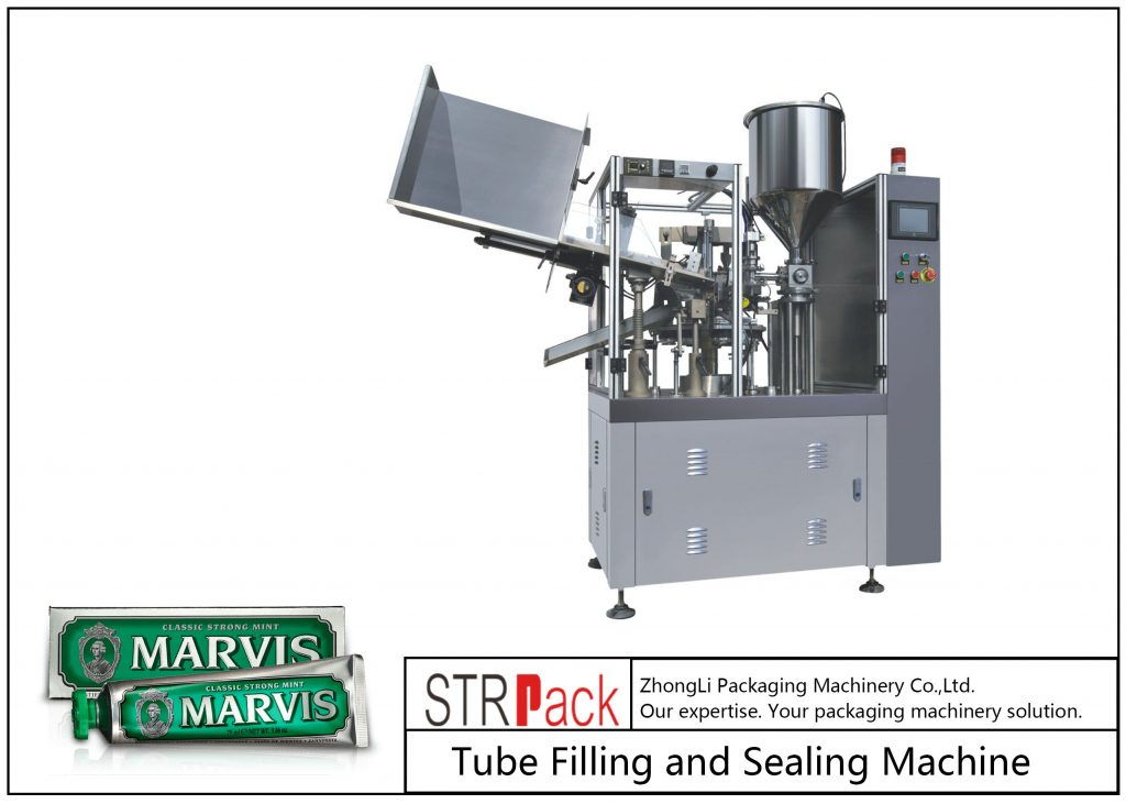 SFS-60 Plastic Tube Filling and Teals Machine
