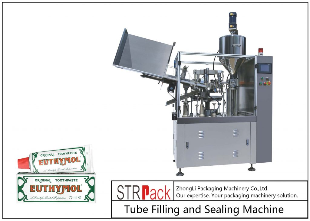 SFS-60Z Metallrørfyllings- og tetningsmaskin