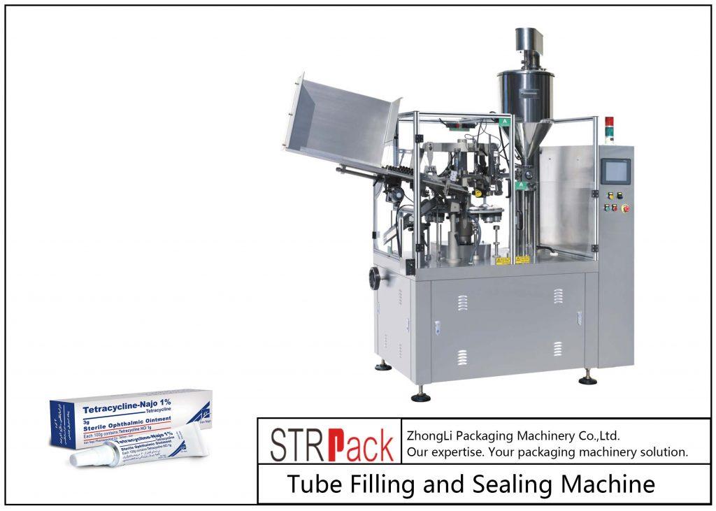 SFS-80Z påfyllings- og forseglingsmaskin for metallrør